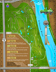 Stone Mountain Map Maps U0026 Directions U2013 Tulsa U0027s Urban Wilderness Area