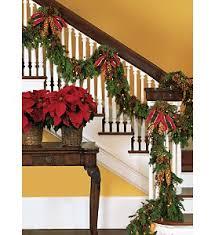 staircase garland in cincinnati oh gregory florist