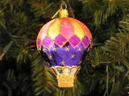 air balloon ornament