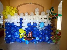 balloon wall decor back wall party design balloon decoration