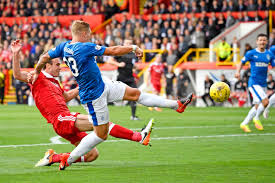 in pictures aberdeen v rangers daily record