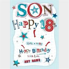 personalised card happy 18th gettingpersonal co uk