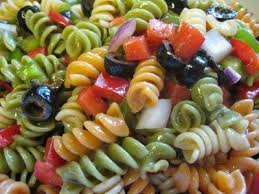 zesty italian pasta salad love this salad i use the tri color