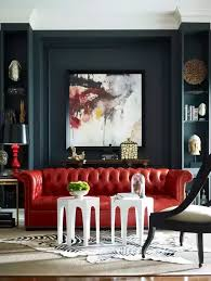 what wall color goes well with a red leather couch quora
