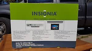 Under The Cabinet Tv Dvd Combo by New In Box Insignia Under Cabinet Counter Kitchen 7 Lcd Tv Dvd