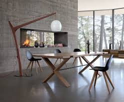 dining room arc floor lamp over dining table full ideas including