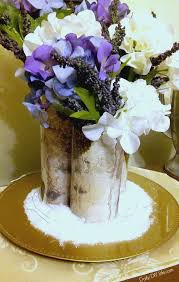 Birch Bark Vases How To Make This Diy Birch Wood Vase In No Time