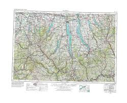 Green Line Map Boston by New York Topo Maps Topographic Maps 1 250 000