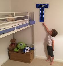Kids Room Letters by Light Up Letter Bedroom Decoration Personalised Kids Room