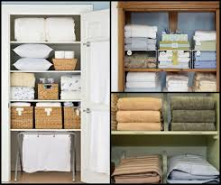 linen closet organizers a solution to organize linens homesfeed two types of linen closet organizer designs with full of linen kinds and rattan boxes as