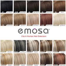 Pros And Cons Of Hair Extensions by Amazon Com Emosa 7pcs 70g 100 Real Full Head Remy Clip In Human