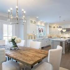strikingly beautiful rustic white kitchen table round and chairs