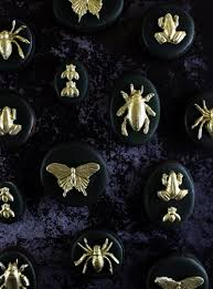 gilded insect cookies the simple sweet life