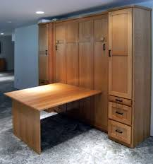 queen murphy bed cabinet oak