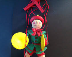 string puppet antique string puppet yok tabin or yoke thé from burma now