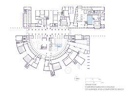 Business Floor Plans by Gallery Of Hbku Carnegie Mellon Legorreta Legorreta 7