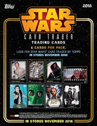 wars cards 2016 topps wars card trader checklist bridging digital and