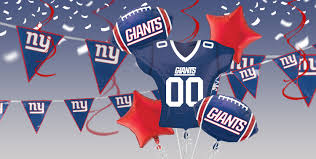 nfl new york giants party supplies party city