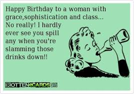 ecards birthday card design ideas woman in graces sphistication class really