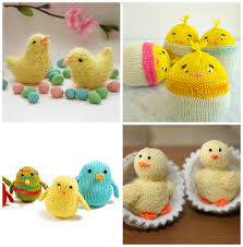 Knitted Easter Egg Decoration easter knitting ideas and patterns bunnies chicks lambs and