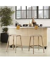deal alert inspire q miles clear acrylic swivel bar stools set