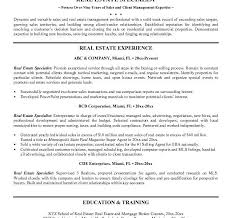 Sample Real Estate Resume by Exclusive Idea Real Estate Resume 10 Free Agent Sample Resume