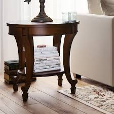 Curved Nightstand End Table Round End U0026 Side Tables You U0027ll Love Wayfair