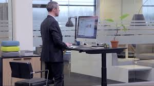 Panel Desk Intuitive Tilting With The Linak Desk Panel Dpg Youtube