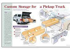 Woodworking Plans For Beds With Storage by 81 Best Truck Bed Storage Images On Pinterest Truck Bed Storage
