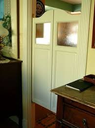 Interior Cafe Doors Would Look Great In An Kitchen Entry Way Keep The Kitchen Mess