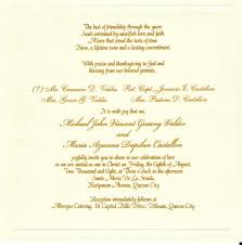 invitation sles in luxury wedding card quotes