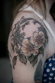 flower shoulder cap tattoo rose shoulder cap tattoo i really