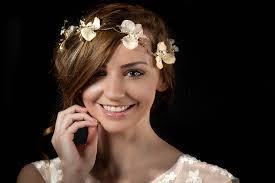 bridal headwear alysia flower circlet or hair vine