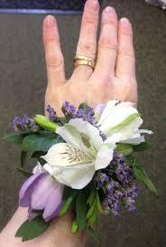White Wrist Corsage Wedding Flowers Liverpool Merseyside Bridal Florist Booker