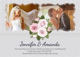 personalized wedding invitations wedding invitation card with photo luxury wedding invitation ideas