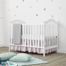 Modern Convertible Crib Dorel Living Baby Relax Adelyn 2 In 1 Convertible Crib White