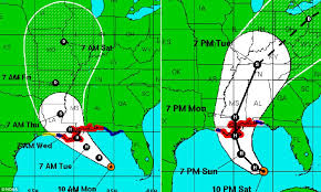 Louisiana how long does it take for mail to travel images Hurricane isaac moves back out to sea after battering louisiana jpg