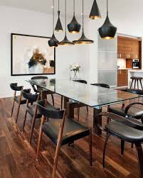 Tom Dixon Dining Table Gorgeous Lights In A Dining Room By Vok Design Ottawa They