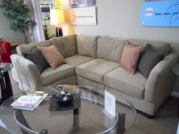 Leather Apartment Sofa Living Room Curved Sectional Sofas For Small Spaces Special