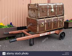 travel trunks images Old fashioned travel trunks on a luggage carrier at washford jpg