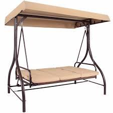 converting outdoor swing canopy hammock seats 3 patio deck