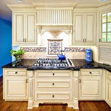 kitchen country style kitchen using the best antique white paint