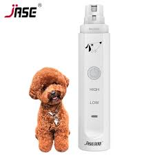JASE 2 Levels Electric Dog Nail Grinder Professional Pet Claw Nail