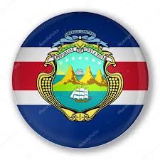 Costarican Flag Costa Rica Flag Symbol