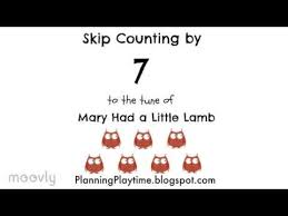 Counting By 7s Song Skip Counting By 7 To The Tune Of Had A