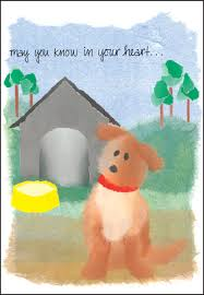 sympathy for loss of dog dog loss sympathy cards for veterinarians it takes two inc