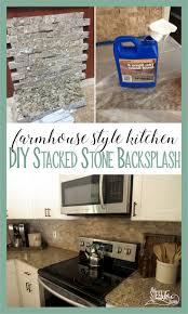 best 25 stacked stone backsplash ideas on pinterest stone
