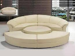 Curved Sofa Sectional Modern Sofa Glamorous Sectional Sofa Bed Curved Leather Tufted