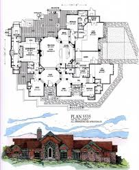 4500 6000 square feet sqft 1 story house plans luxihome