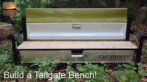 build a tailgate bench youtube
